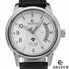 "MEN'S ""ALGEER"" DATE AUTOMATIC MOVEMENT WATCH - GREAT LOOK - NEW IN BOX"