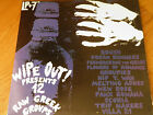 Various – Wipe Out! Presents 12 Raw Greek Groups LP+7''+INSERT GREEK NEW WAVE