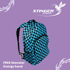 Backpack - great for skateparks and school. Blue and black checked. Great price!