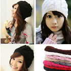Fashion Lady Women Warm Winter Beret Beanie Knitted Hat Cap LDY-HAT-G