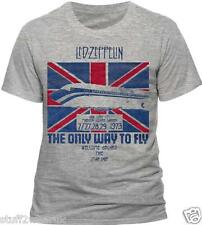 Led Zeppelin The Only Way To Fly T Shirt Official Live At Madison Sq Gardens 060