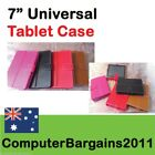 "7"" Leather Case Cover Flip Stand Android Tablet PC MID 7 inch universal"