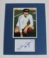 FRANK WORTHINGTON IN BOLTON WANDERERS SHIRT SIGNED AUTOGRAPH PHOTO MOUNT COA
