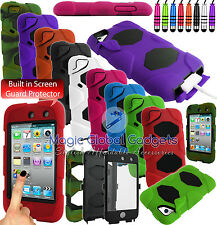 HEAVY DUTY MILITARY SHOCK PROOF PROTECTION CASE FOR APPLE iPOD TOUCH 4 / 5 / 6