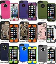 NEW OtterBox Defender Series 3 Layer Rugged Combo Case + Holster for iPhone 5/5S