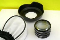MACRO Close Up Lenses Lens kit for Panasonic Lumix G Vario 14-45mm F3.5-5.6