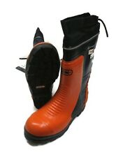 New Oregon 295384 Safety CHAINSAW FORESTRY BOOTS Nylon Top - Lug Sole