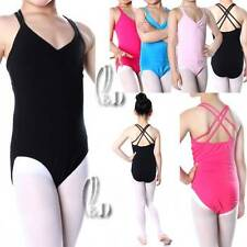 GIRLS COTTON TANK DANCE BALLET GYMNASTICS LEOTARD AU SELLER DA006