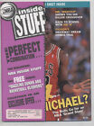 MICHAEL JORDAN NBA Inside Stuff Magazine UNCUT SHEET NR/MINT