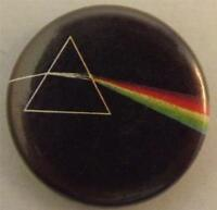 """PINK FLOYD Dark Side Of The Moon Vtg 1980`s Button Badge Pin(25mm-1"""")#PF105"""