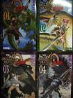 MONSTER HUNTER ORAGE book Manga 1~4 set Complete