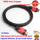 HDMI CABLE 6 FT For BLURAY 3D DVD PS3 HDTV XBOX LCD HD TV 1080P 6FT