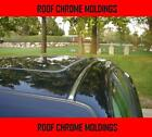2 Piece Chrome Silver Top Roof Overlay Molding Trim Kit For Mazda Models