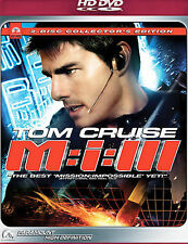 Mission: Impossible III (HD DVD, 2006, 2-Disc Set, Collector's Edition)
