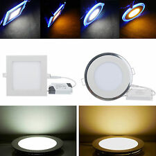 6W 9W 12W 15W 18W 21W Dimmable LED Ceiling Recessed Panel Down Light Bombillas