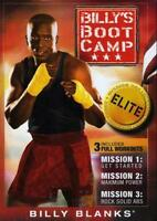 BILLY'S BOOTCAMP ELITE TAE BO 2 DVD SET 3 WORKOUTS NEW SEALED BILLY BLANKS TAEBO