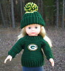 "American Girl 18"" Doll NFL or College Football Crochet Set You Choose"