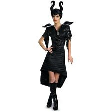 Maleficent Costume Deluxe Christening Gown Adult Womens Halloween Fancy Dress