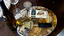 GRANITE cheese server & TABLE-TOP DESIGNS  w/ ''new FREE shipping''