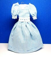 Dollhouse Miniature Size Ladies Completely Handmade Cotton Dress  G203