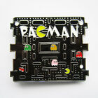 Pacman Classic Video Game Metal Belt Buckle