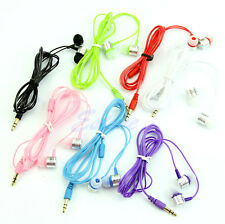 3.5mm In-Ear Earbuds Earphone Headset Headphone For iPhone Samsung MP3 iPod PC