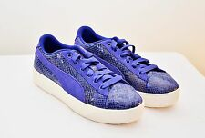 New PUMA Classic Extreme Animal Platform Sneakers Purple Women Size 7 7.5 8 9.5