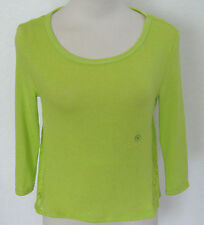 AEROPOSTALE Women's Green Lace Trimmed Light Weight Sweater XS-S-M-L