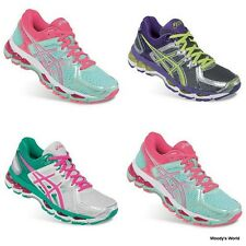 ASICS Gel-Kayano 21 Women's Running Shoes - Karte Damen Laufschuhe Sneakers NEU