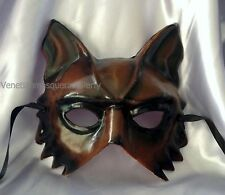 Handmade Costume animal masquerade wolf mask boys mens midnight bachelor party