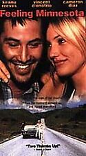Feeling Minnesota [VHS] Keanu Reeves, Vincent D'Onofrio, Cameron Diaz, b23