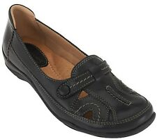 Earth Origins Leather Perforated Slip-ons - Sadie PICK SIZE & COLOR NEW