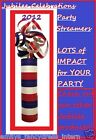 QUEENS Diamond JUBILEE 54 Throw STREAMERS Olympics UNION JACK Party Decorations
