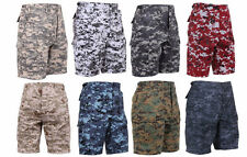 Rothco Digital Camouflage Military BDU Cargo Shorts