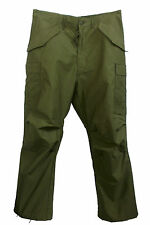 RARE 100% GENUINE MADE USA MILITARY ISSUE M65 OLIVE DRAB COMBAT TROUSER NEW