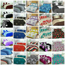 Duvet Cover with Pillow Case Quilt Cover Bedding SetS All Size