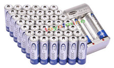 44x AA 3000mAh 1.2V Ni-MH rechargeable battery BTY for MP3 RC Toy Camera+Charger