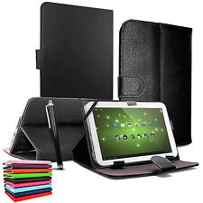 """New Universal Leather Stand Case Cover 9.7"""" - 10.1"""" Inch Tab Android Tablet PC"""