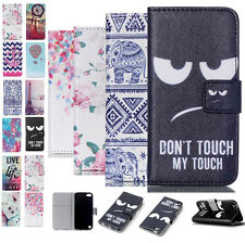 Luxury Painted Magnetic Wallet Leather Case Cover For Apple iPod Touch 5 5th Gen