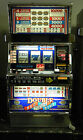 """IGT S2000 COINLESS SLOT MACHINE """"DOUBLE RED,WHITE, AND BLUE"""" 5 LINE"""