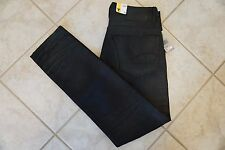 NWT MENS G-STAR RAW JEANS Multiple Sizes 3301 Tapered Fit Coated Black Cob Smash