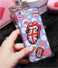 3D SEXY RED LIP PHONE CASES SEDUCTIVE MOUTH CASE FOR IPHONE 5, 5S ,6