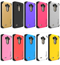 SOOPER COOL Protective Hybrid Cover Case For LG G4 2015