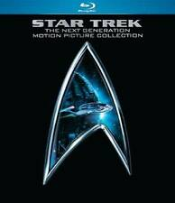 Star Trek:The Next Generation 4-Motion Picture Collection Blu-ray NEW 5-Disc