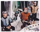 GERRY ANDERSON & SYLVIA ANDERSON SIGNED CAPTAIN SCARLET PHOTO - UACC AUTOGRAPH