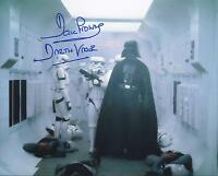 DAVE PROWSE SIGNED 8x10 STAR WARS DARTH VADER PHOTO - UACC & AFTAL RD AUTOGRAPH