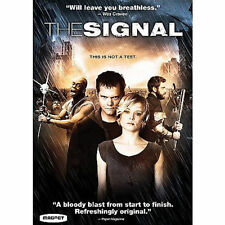 The Signal Blu-ray case included - watched once horror thriller