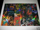 2007 MARVEL MASTERPIECES X-MEN + Spider-Man FOIL 2 SETS