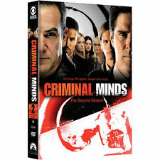 Brand NEW Factory Sealed CRIMINAL MINDS: The Second Season DVD 2007 6-Disc Set