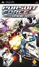 Pursuit Force: Extreme Justice (Sony PSP, 2008) COMPLETE -  GOOD